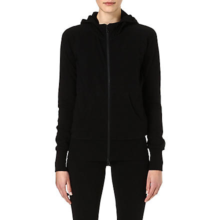 Y3 Core ribbon hoody (Black