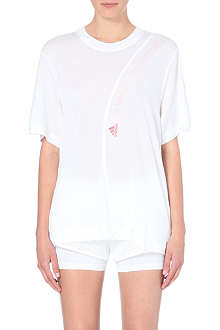 ADIDAS BY STELLA MCCARTNEY Logo-detail jersey t-shirt