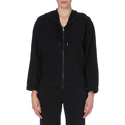ADIDAS BY STELLA MCCARTNEY Essentials zip-up hoody (Black