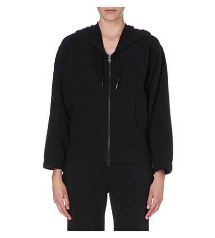 ADIDAS BY STELLA MCCARTNEY Essentials zip-up hoody (Black