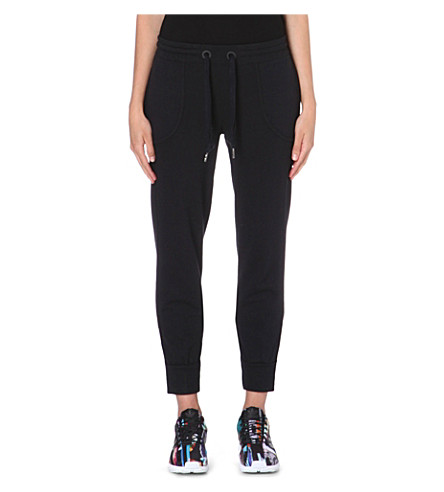 ADIDAS BY STELLA MCCARTNEY Essential jogging bottoms (Black
