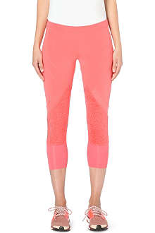 ADIDAS BY STELLA MCCARTNEY Three-quarter stretch-jersey leggings