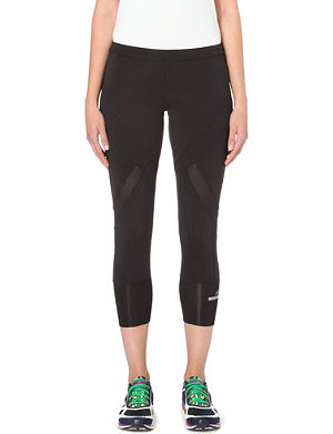 ADIDAS BY STELLA MCCARTNEY Three-quarter stretch-jersey leggings