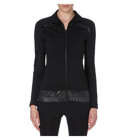 ADIDAS BY STELLA MCCARTNEY Performance stretch-jersey jacket (Black