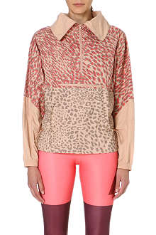 ADIDAS BY STELLA MCCARTNEY Leopard-print jacket