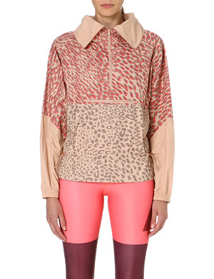 ADIDAS BY STELLA MCCARTNEY Leopard-print jacket