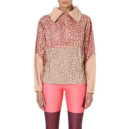 ADIDAS BY STELLA MCCARTNEY Leopard-print jacket (Rose tan-smc