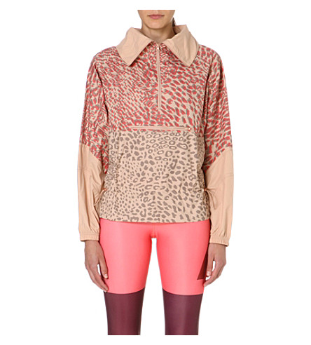 ADIDAS BY STELLA MCCARTNEY Leopard-print jacket (Rose tan-smc