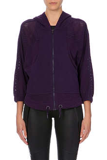 ADIDAS BY STELLA MCCARTNEY Studio Performance mesh hoody