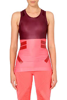 ADIDAS BY STELLA MCCARTNEY Techfit colour-blocked vest