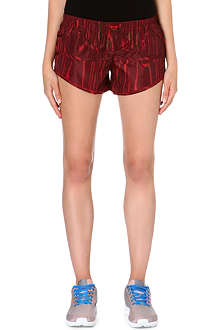 ADIDAS BY STELLA MCCARTNEY Wood grain-print shorts