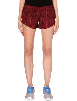 ADIDAS BY STELLA MCCARTNEY Wood grain-print shorts