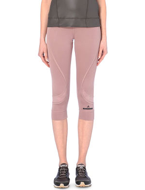 ADIDAS BY STELLA MCCARTNEY Run 34 cropped sweat leggings