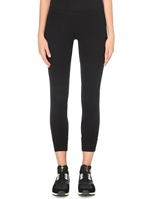 Y3 Skinny knitted leggings