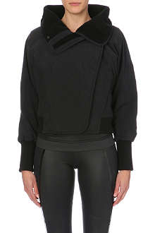 ADIDAS BY STELLA MCCARTNEY Slim-fit fleece-lined jacket