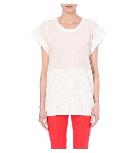 Adidas By Stella Mccartney Low Waste Scoop Neck T Shirt