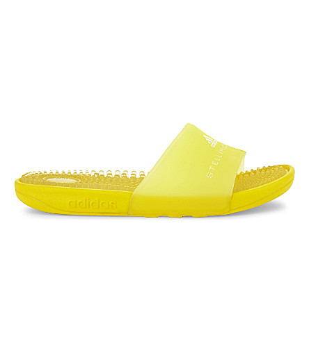 ADIDAS BY STELLA MCCARTNEY Addisage slides (Vivid+yellow
