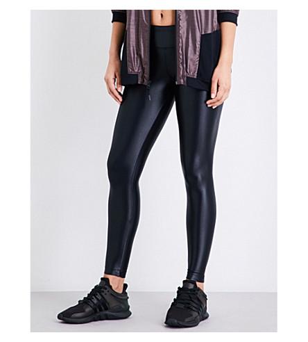 KORAL Lustrous high-shine leggings (Black