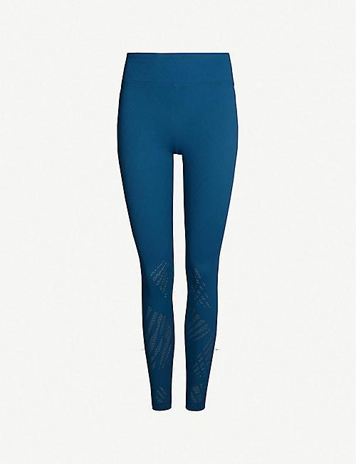 2d16720ccaa5e KORAL Drive Maxen high-rise stretch-mesh leggings