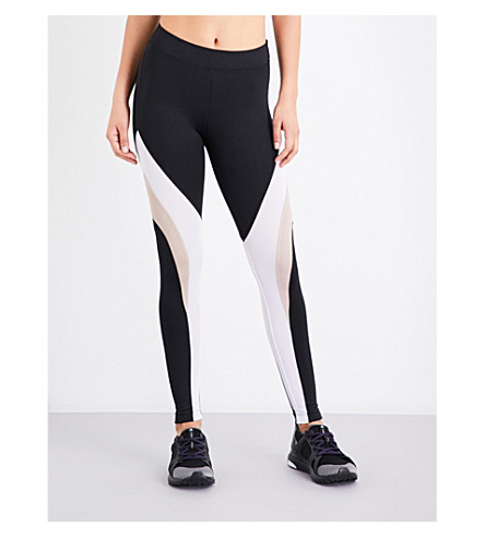 KORAL Frame jersey leggings (Black+bisque