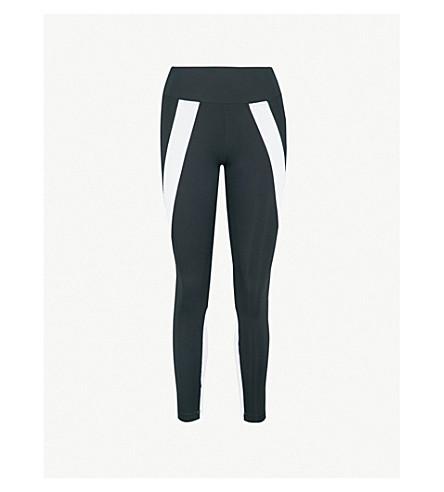 KORAL船体伸展-球衣紧身裤 (黑色白色