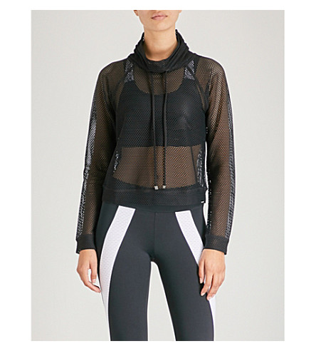 KORAL Pump mesh jumper (Black