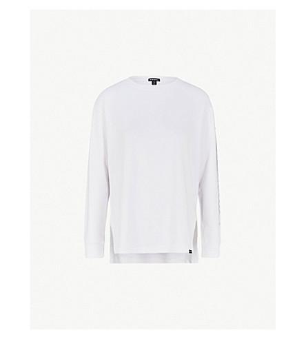 KORAL布里斯托尔船-颈部球衣运动衫 (白色 w 黑色
