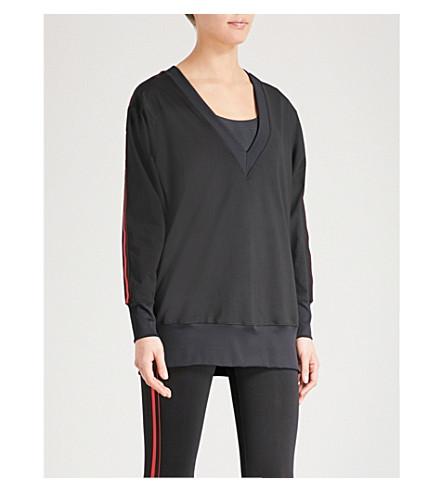KORAL 轴伸展运动衫 (黑色 + 瓦特/斯佳丽