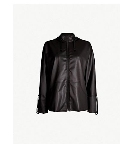 KORAL Hooded scuba jacket (Black