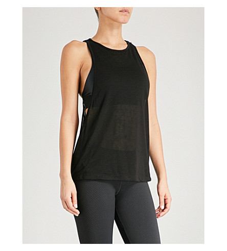 KORAL Venus jersey top (Black