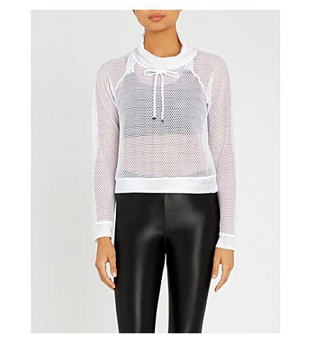 KORAL Pump mesh jumper (White