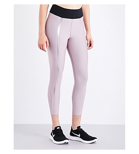ULTRACOR Sprinter High Luxe Trail stretch-jersey leggings (Blush+blush
