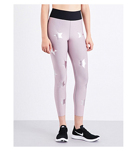 ULTRACOR Sprinter High Luxe Knockout stretch-jersey leggings (Blush+blush