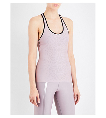 ULTRACOR Neuro luxe stretch-jersey top (Blush