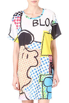 RODNIK X PEANUTS Lucy Pop Art jersey dress