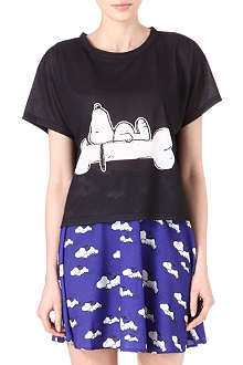 RODNIK X PEANUTS Snoopy Sleeping t-shirt