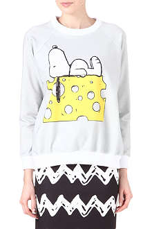 RODNIK X PEANUTS Snoopy on Cheese sweatshirt