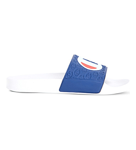 CHAMPION Logo rubber pool slides (Multi