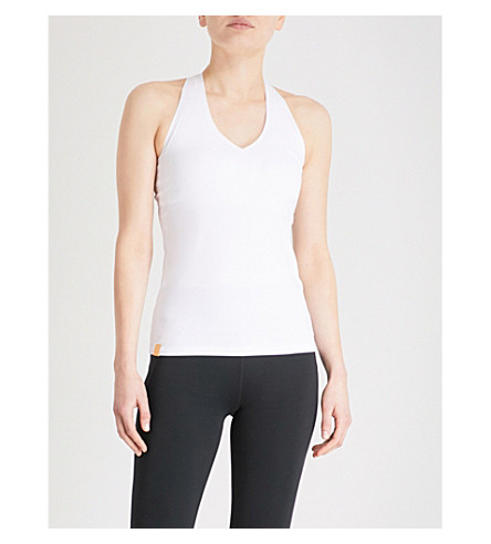 MONREAL LONDON Essential stretch-jersey top (White