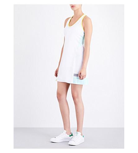 MONREAL LONDON Player stretch-jersey dress (Aquamarine