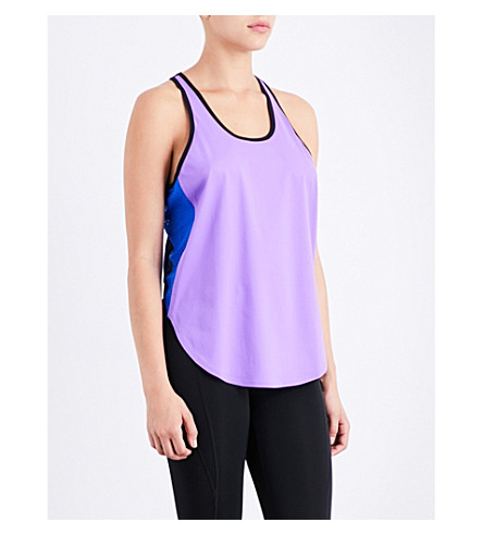 MONREAL LONDON Relay jersey top (Amethyst