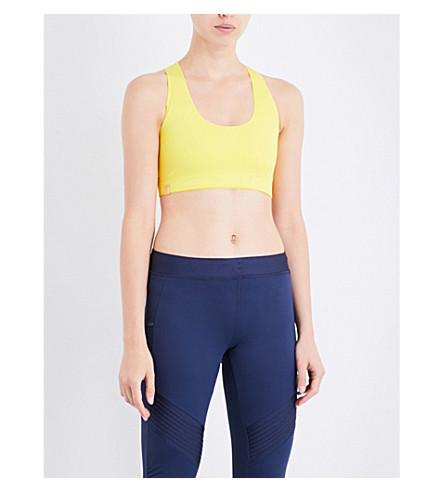 MONREAL LONDON Essential stretch-jersey sports bra (Citrine