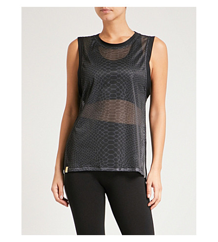 MONREAL LONDON Challenge jersey top (Silver+reptile