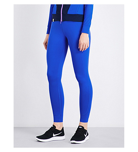 MONREAL LONDON Essential stretch-jersey leggings (Lapis