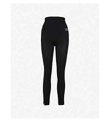 MONREAL LONDON Hi-Tech seamless tech-knit leggings (Black