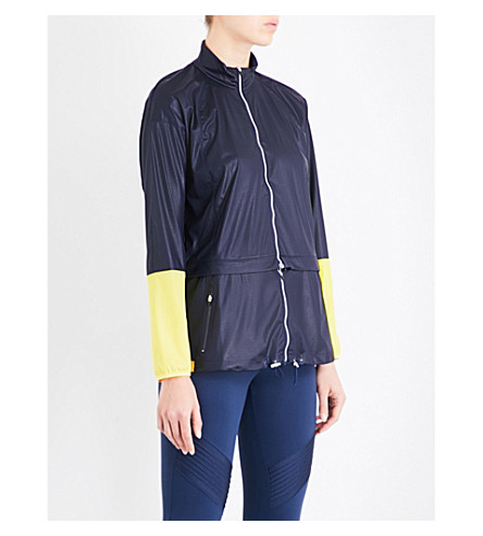 MONREAL LONDON Action shell windbreaker jacket (Dark+sapphire
