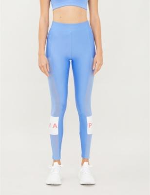 XTG high-waisted stretch-jersey leggings