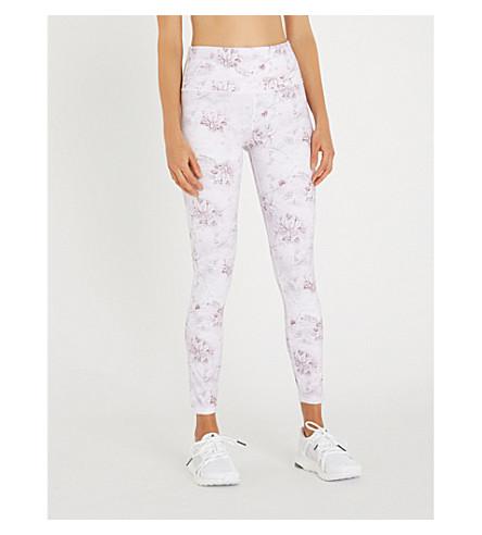 VARLEY Biona stretch-jersey leggings (Antique+floral