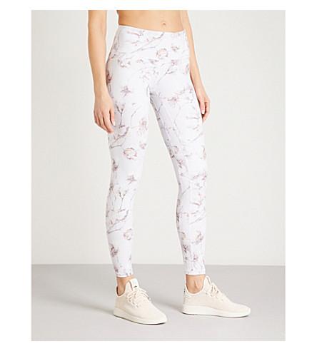 VARLEY Biona stretch-jersey leggings (Multi+floral