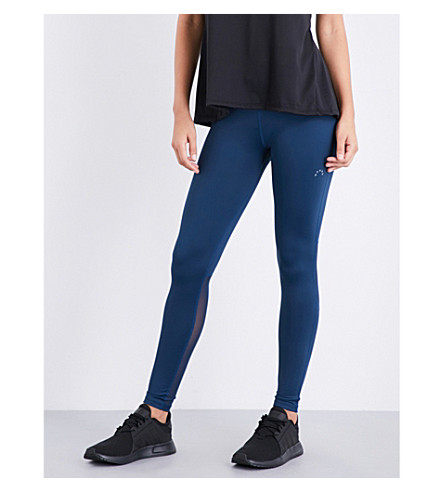 VARLEY Decker stretch-jersey leggings (Teal